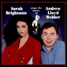 The former Mr and Mrs Lloyd Webber