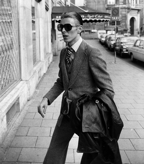 David Bowie in Munich in 1976