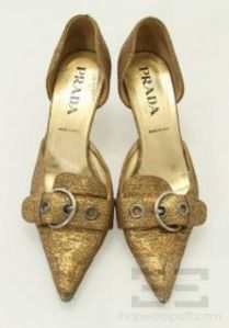 158958589_prada-gold-metallic-brocade-buckle-toe-dorsay-kitten-