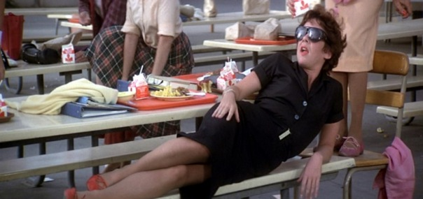 Grease_Stockard-Channing_Summer-Nights-Lying-Down-Black-Outfit_bmp1