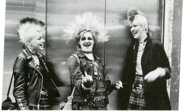 punks, kings road 1980