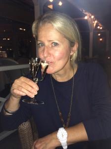 Maggie Alderson Sweden schnapps - and horror skin