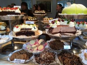 Taxinge Slott 'cake castle' fearuing Princess Cake, as seen on Bake off